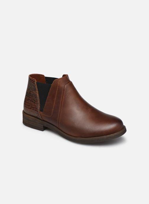 Stiefeletten & Boots Clarks Demi2 Beat braun detaillierte ansicht/modell
