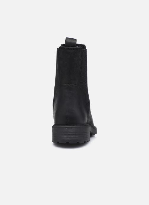 Bottines et boots Clarks Orinoco2 Top Noir vue droite