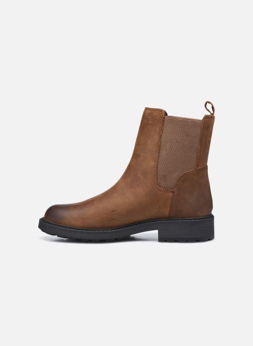 Stiefeletten & Boots Clarks Orinoco2 Top braun ansicht von vorne
