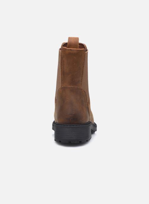 Stiefeletten & Boots Clarks Orinoco2 Top braun ansicht von rechts