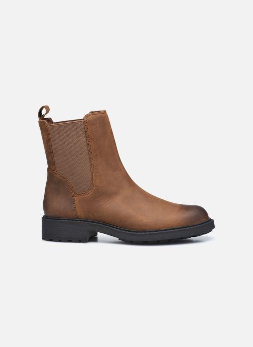Stiefeletten & Boots Clarks Orinoco2 Top braun ansicht von hinten