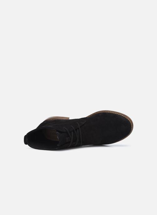 Stiefeletten & Boots Clarks Camzin Grace schwarz ansicht von links