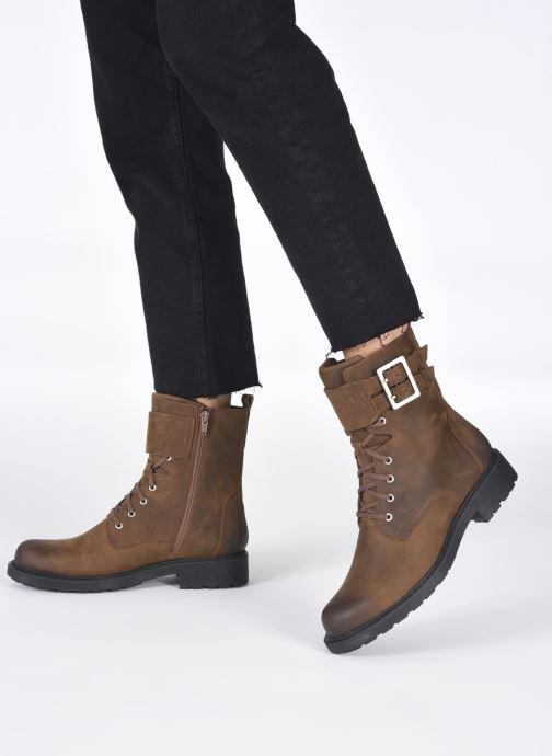 Bottines et boots Clarks Orinoco2 Lace Marron vue bas / vue portée sac