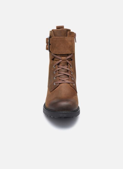 Bottines et boots Clarks Orinoco2 Lace Marron vue portées chaussures