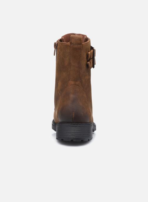 Bottines et boots Clarks Orinoco2 Lace Marron vue droite