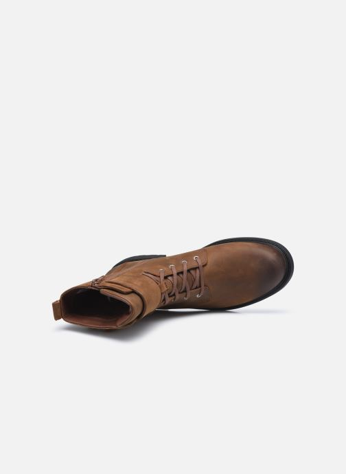Bottines et boots Clarks Orinoco2 Lace Marron vue gauche