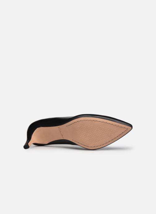 Zapatos de tacón Clarks Laina55 Court2 Negro vista de arriba