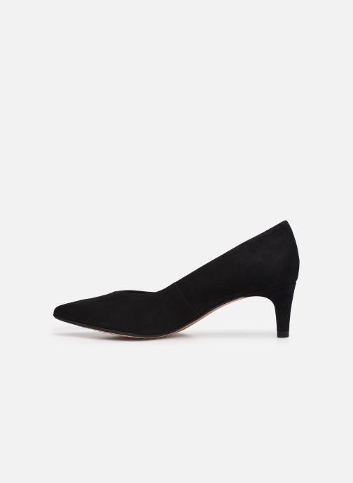 Zapatos de tacón Clarks Laina55 Court2 Negro vista de frente