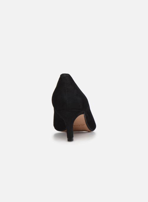 Zapatos de tacón Clarks Laina55 Court2 Negro vista lateral derecha