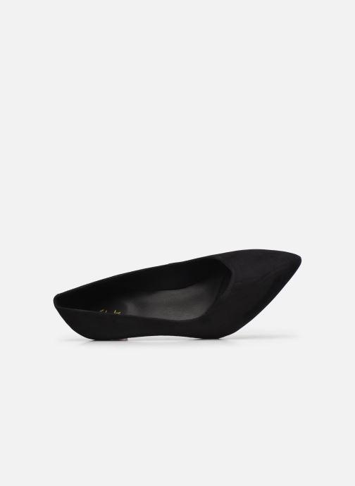 Zapatos de tacón Clarks Laina55 Court2 Negro vista lateral izquierda