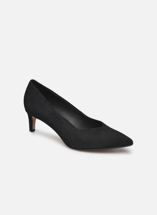 Zapatos de tacón Clarks Laina55 Court2 Negro vista de detalle / par