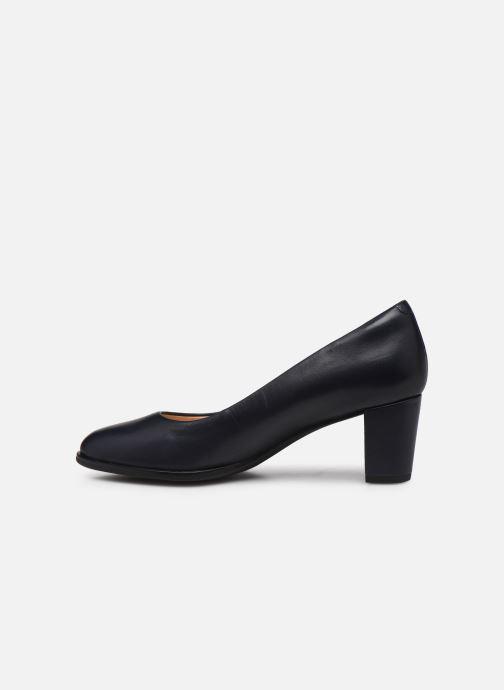 Zapatos de tacón Clarks Kaylin60Court2 Azul vista de frente
