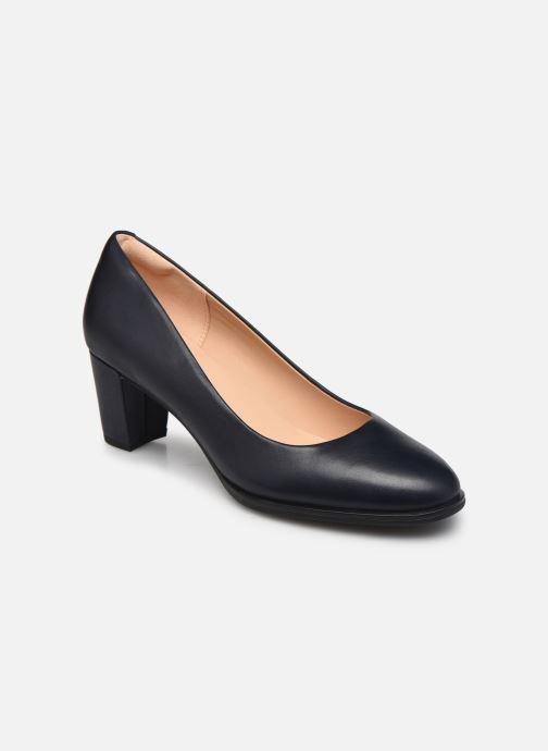 Zapatos de tacón Clarks Kaylin60Court2 Azul vista de detalle / par