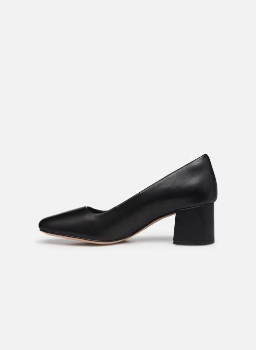Zapatos de tacón Clarks Sheer Rose 2 Negro vista de frente