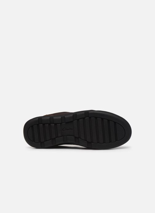 Sneakers Clarks AshcombeLoGTX Marrone immagine dall'alto