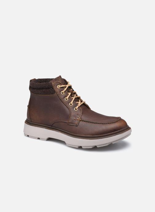 Stiefeletten & Boots Clarks Dempsey Moc braun detaillierte ansicht/modell