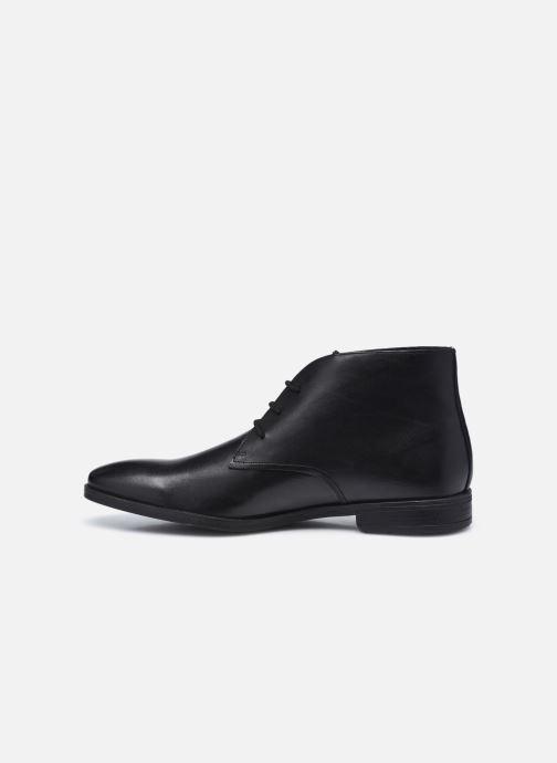 Bottines et boots Clarks Stanford Lo Noir vue face