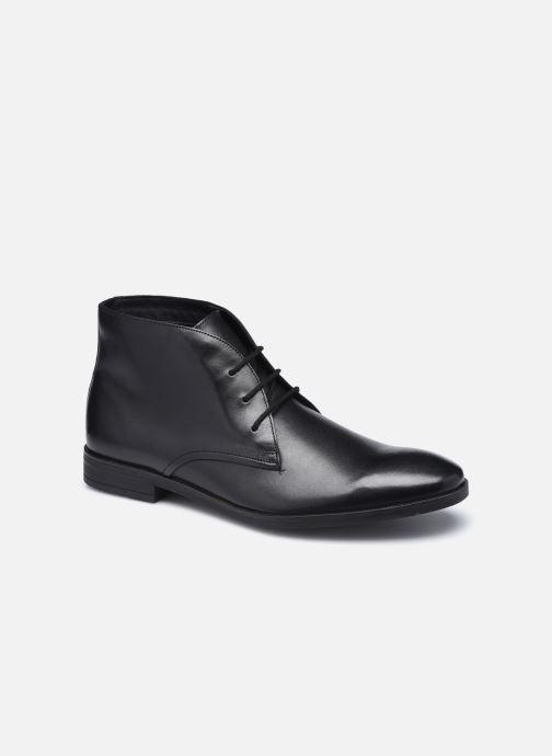 Bottines et boots Clarks Stanford Lo Noir vue détail/paire
