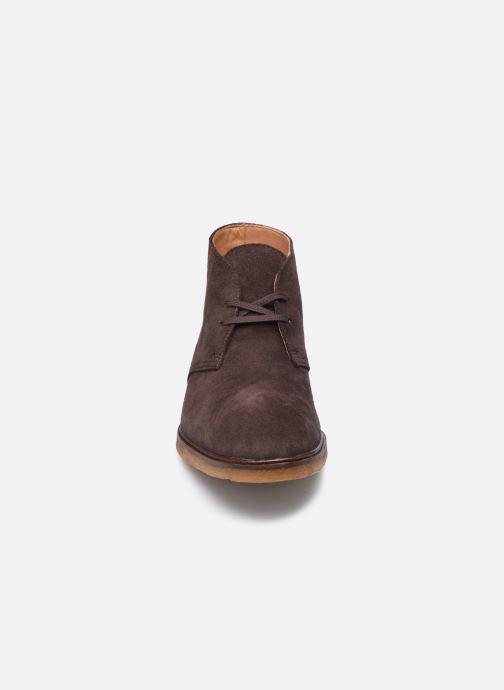 Stiefeletten & Boots Clarks Clarkdale DBT braun schuhe getragen