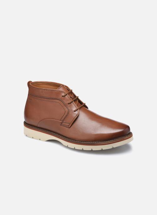 Bottines et boots Clarks Bayhill Mid Marron vue détail/paire