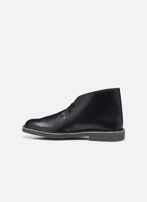 Botines  Clarks Desert Boot 2 Negro vista de frente