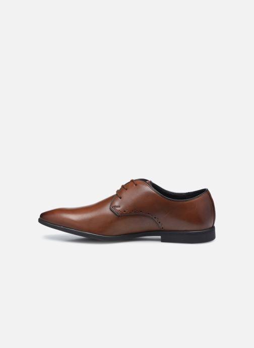 Zapatos con cordones Clarks Bampton Park Marrón vista de frente