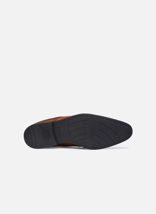 Zapatos con cordones Clarks Bampton Park Marrón vista de arriba