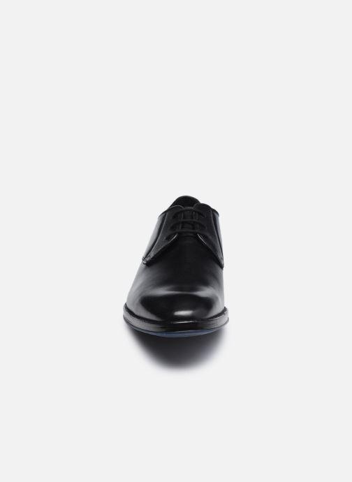 Chaussures à lacets Clarks CitiStrideLace Noir vue portées chaussures