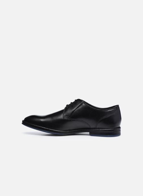 Chaussures à lacets Clarks CitiStrideLace Noir vue face