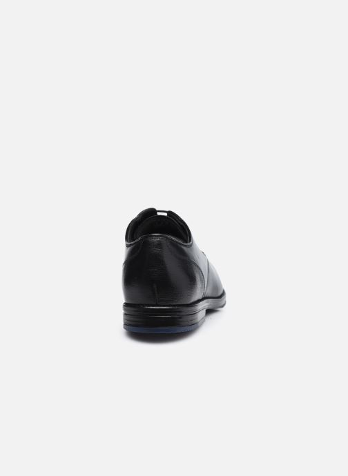 Chaussures à lacets Clarks CitiStrideLace Noir vue droite
