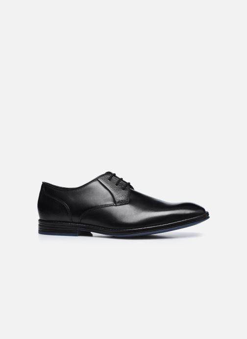 Chaussures à lacets Clarks CitiStrideLace Noir vue derrière