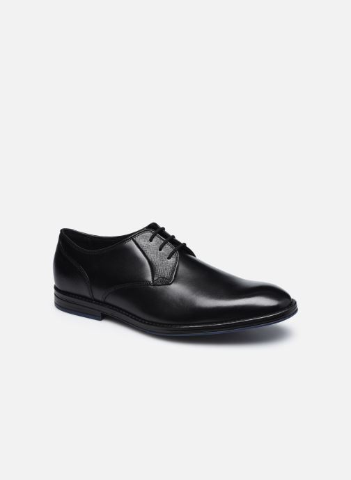 Chaussures à lacets Clarks CitiStrideLace Noir vue détail/paire