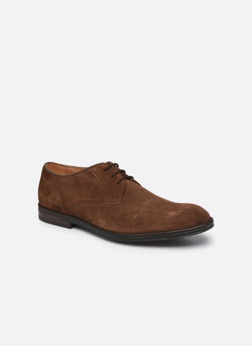 Chaussures à lacets Clarks CitiStrideLace Marron vue détail/paire