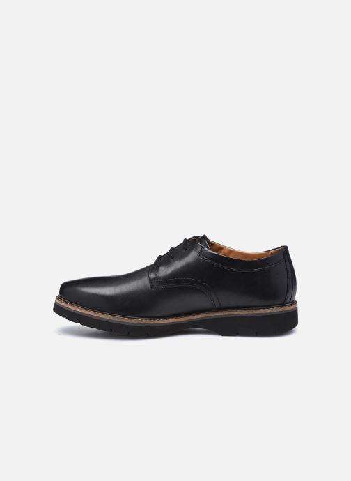 Zapatos con cordones Clarks Bayhill Plain Negro vista de frente