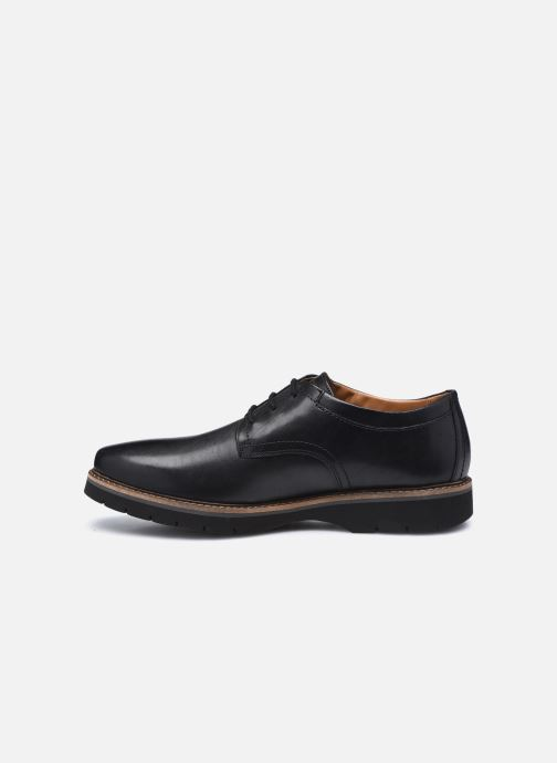 Chaussures à lacets Clarks Bayhill Plain Noir vue face