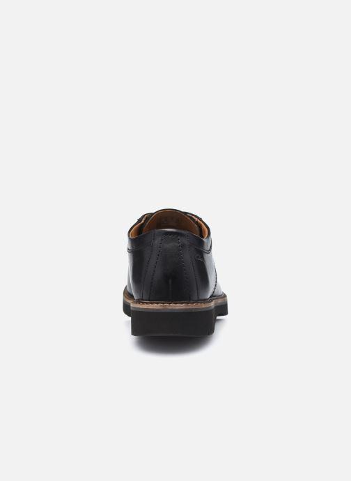 Chaussures à lacets Clarks Bayhill Plain Noir vue droite