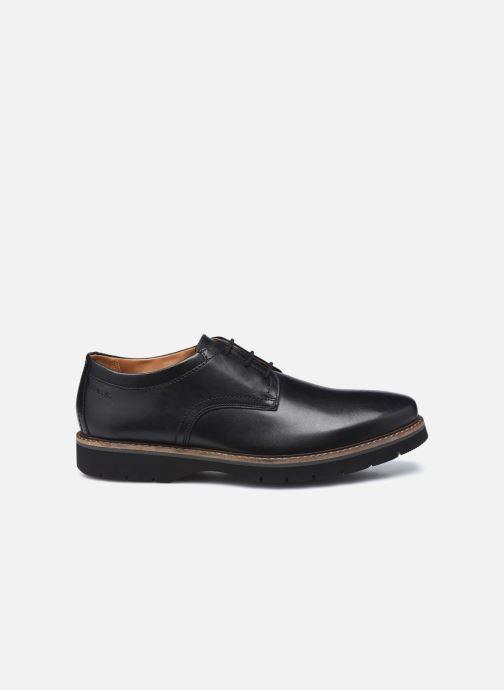 Chaussures à lacets Clarks Bayhill Plain Noir vue derrière