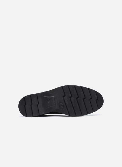 Chaussures à lacets Clarks Bayhill Plain Noir vue haut