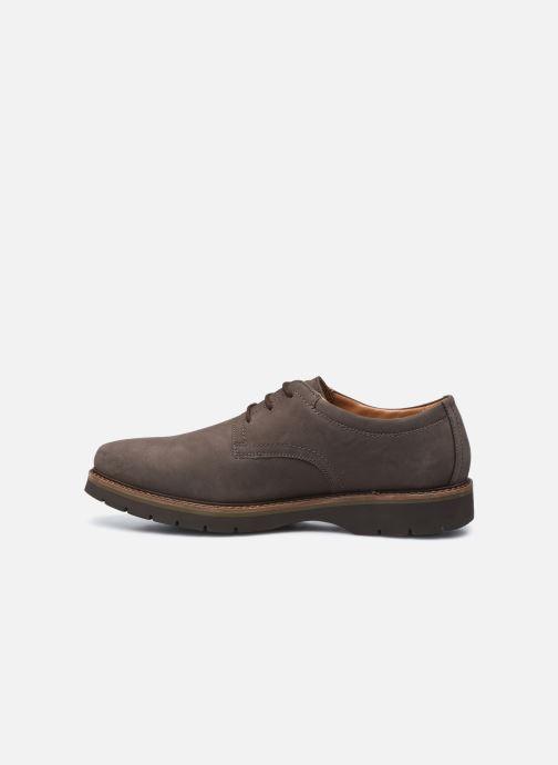 Chaussures à lacets Clarks Bayhill Plain Marron vue face