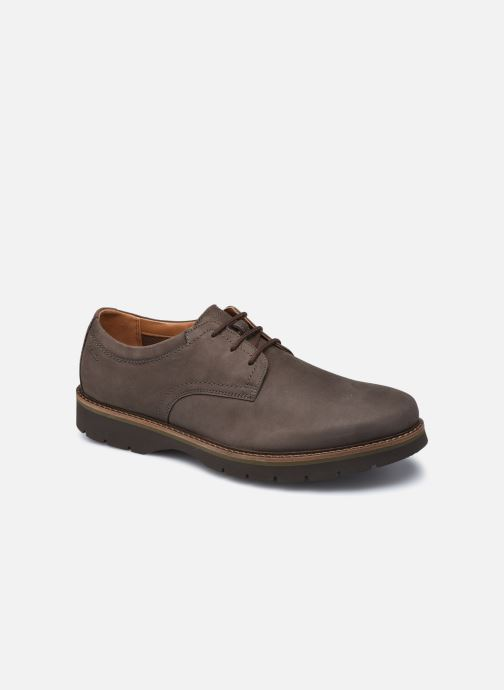 Chaussures à lacets Clarks Bayhill Plain Marron vue détail/paire