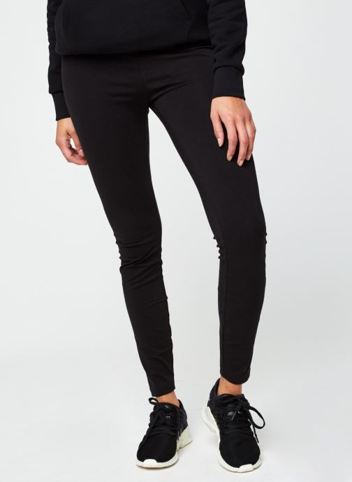 Vêtements Hummel Hmlcate High Waist Tights Cotton Bio Sustainability Program Noir vue détail/paire
