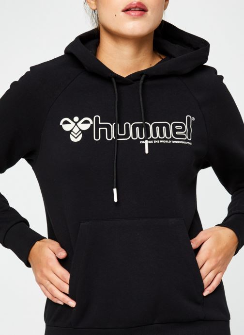 Vêtements Hummel Hmlnoni Hoodie Noir vue face