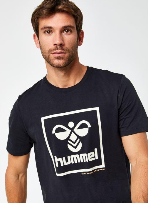 Vêtements Hummel Hmlisam T-Shirt Selected By Mister V Noir vue face