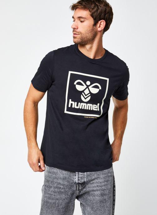 Vêtements Hummel Hmlisam T-Shirt Selected By Mister V Noir vue détail/paire
