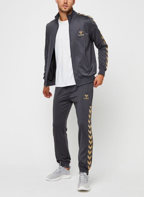Vêtements Hummel Hmlnathan Pants Selected By Mister V Gris vue bas / vue portée sac