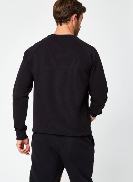 Vêtements Hummel Hmldare Sweat Shirt Noir vue portées chaussures
