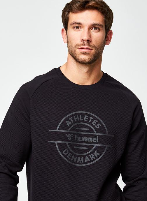 Vêtements Hummel Hmldare Sweat Shirt Noir vue face