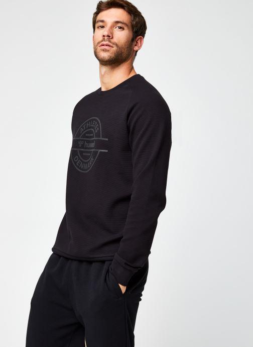 Vêtements Hummel Hmldare Sweat Shirt Noir vue droite