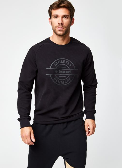Vêtements Hummel Hmldare Sweat Shirt Noir vue détail/paire
