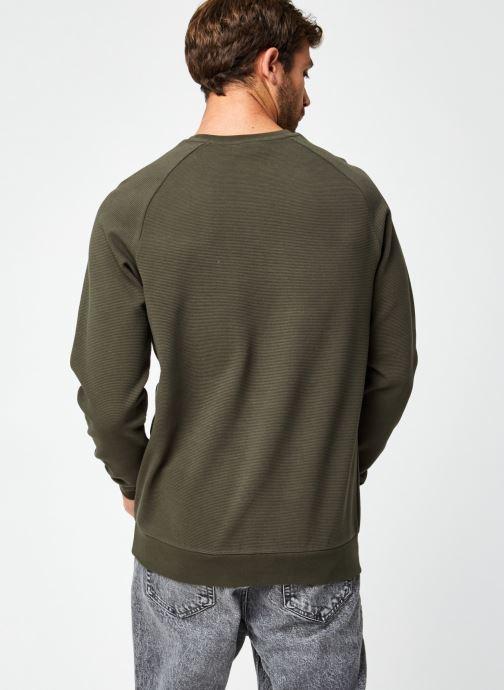 Vêtements Hummel Hmldare Sweat Shirt Vert vue portées chaussures